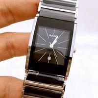 Часы RADO INTEGRAL CERAMICA Hi-TECH QUARTZ  Black/Silver. Replica: ААА., фото 1