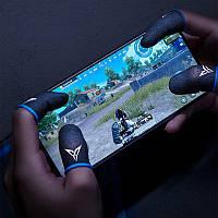 1 пара мобільні напальчники Seuno 2020 сині для Pubg mobile