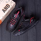 Мужские черные кожаные кроссовки MERRELL, фото 3