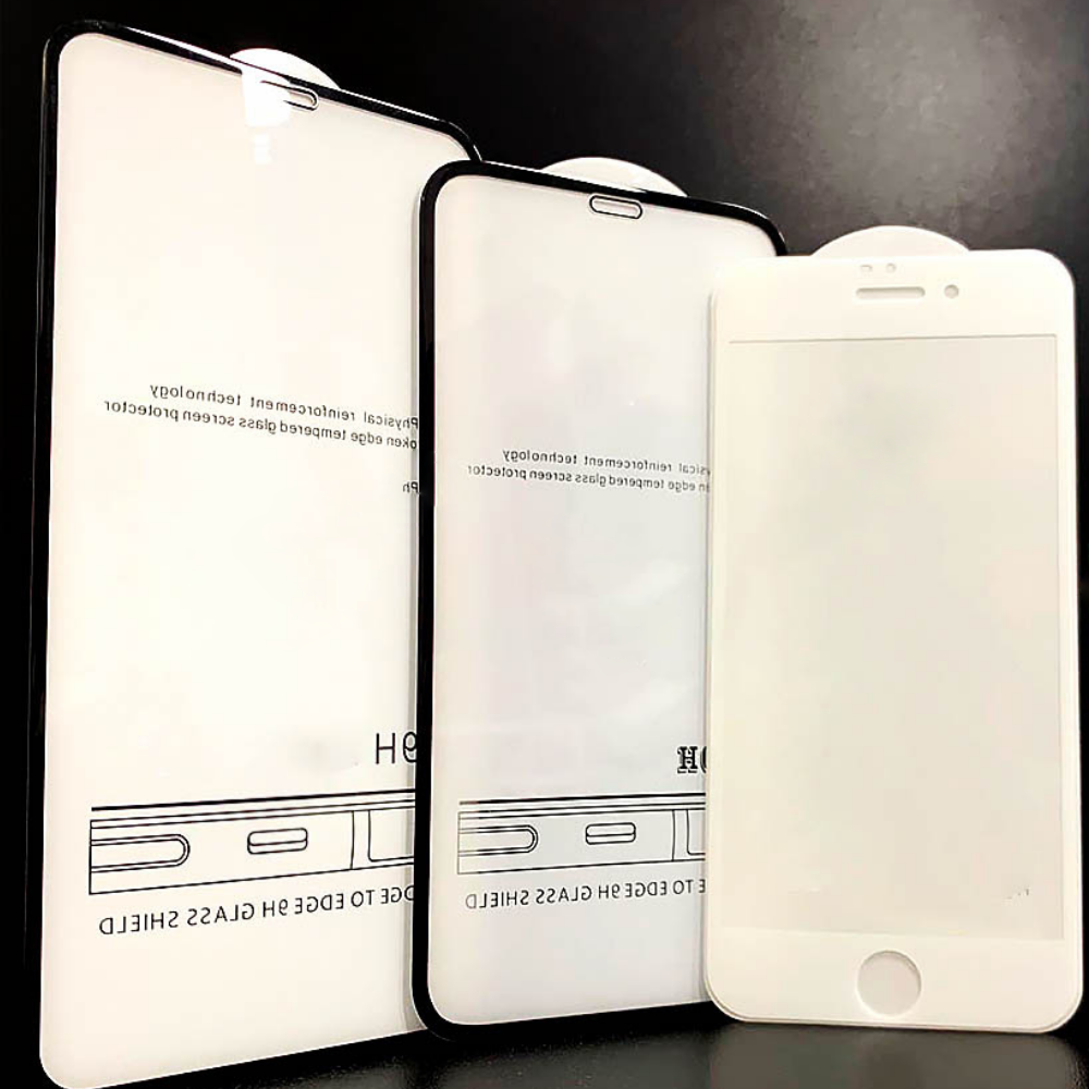 Защитное стекло Samsung M30 M305 2019 6D черное