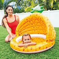Басейн дитячий ананас з навісом
