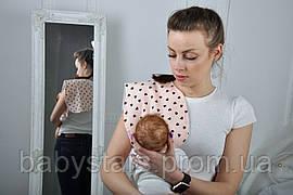 Полотенце для гигиены новорожденного, Сердечки