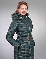 Курточка с  удлиненной трикотажной манжетой, с прорезью для пальц