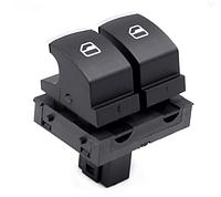 Кнопка стеклоподъёмника SEAT двойная хром (водитель)
