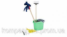 Дитячий іграшковий ігровий набір для прибирання 416OR (Бірюзовий)