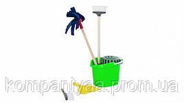 Дитячий іграшковий ігровий набір для прибирання 416OR (Салатовий)