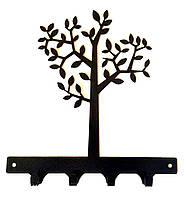 Оригинальная Вешалка в прихожую Дерево