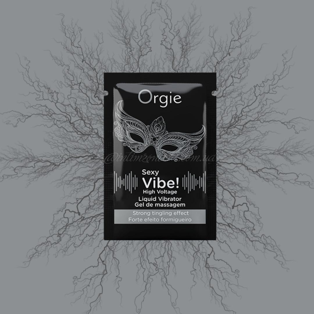 ПРОБНИК Жидкий вибратор SEXY VIBE вибрация: сильная, 2 мл