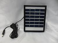 Солнечная панель с возможностью заряжать мобильный телефон Solar board 2W-6V + mob. Charger