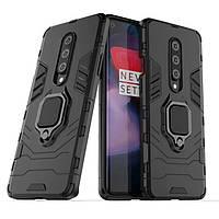 Чехол Ring Armor для OnePlus 8 Black