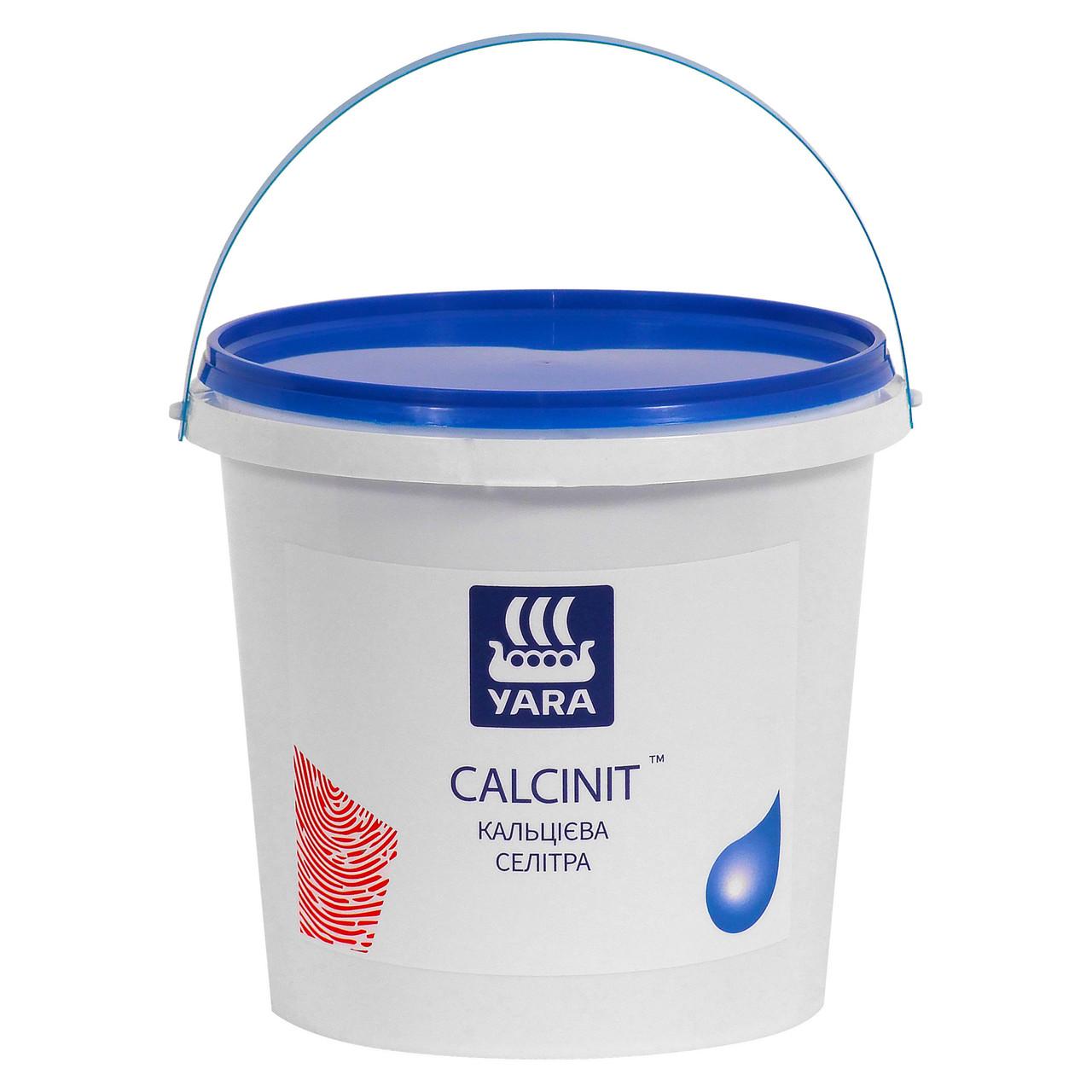 Азотне добриво для гідропоніки, для аквапоники, кальцієва селітра, Яру Кальцинит, Yara CALCINIT (1,0 кг)
