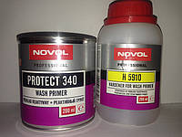 NOVOL реактивный кислотный грунт Protect 340 (0,25л) + отвердитель (0,25л) (грунт для цветных металов)