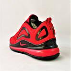 Кросівки N!ke Air Max 720 Червоні з Чорним Найк Жіночі (розміри: 36,37,38,39) Відео Огляд, фото 4