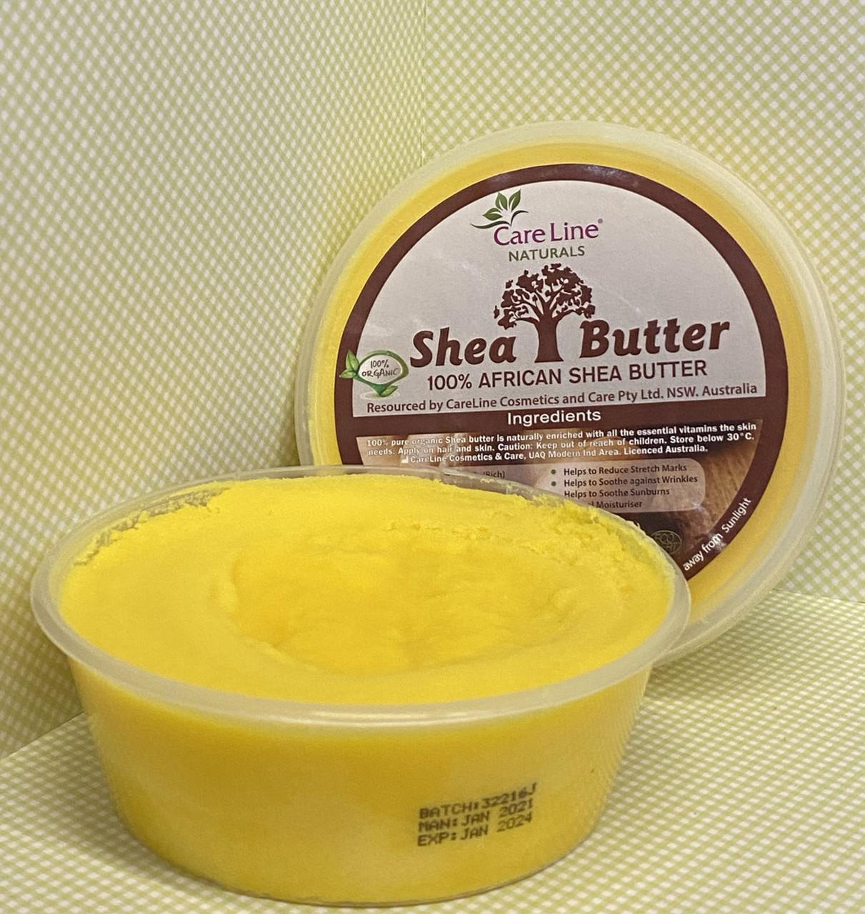 Африканское нерафинированное  масло Ши Careline  100% Shea Butter 227 грамм