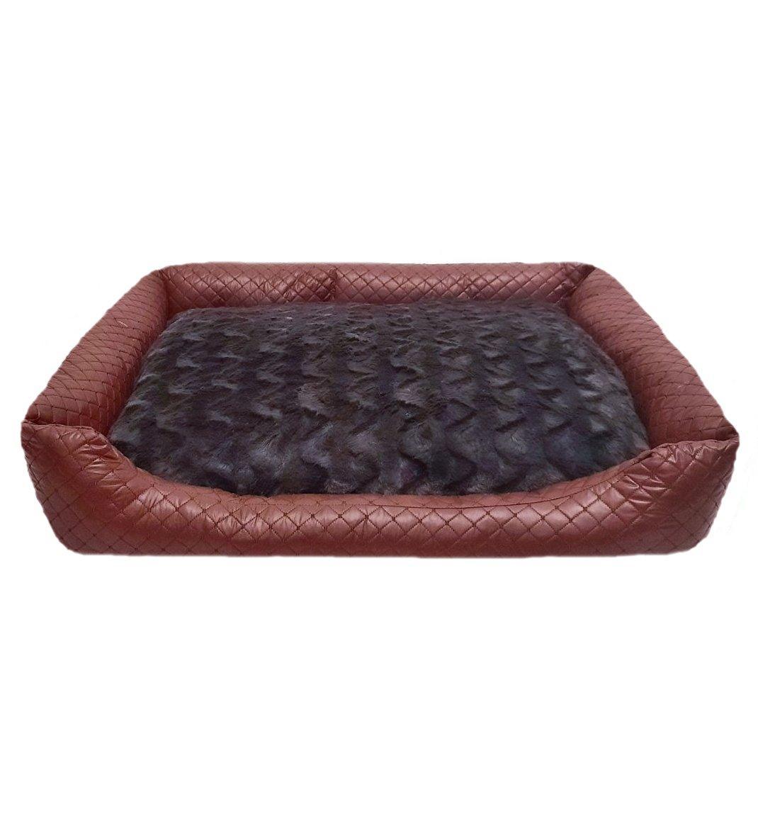 Лежак лежанка 78*68 спальное место для (собак и кошек) животных чехол съемный