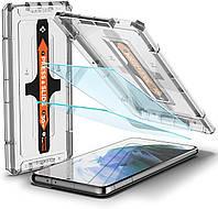 Защитное стекло Spigen для Samsung Galaxy S21 Plus -Защитное стекло Spigen д EZ Fit GLAS.tR (2 шт), (AGL02537)