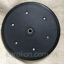 """Прикотуюче колесо в зборі ( диск поліпропілен ) з підшипником  1"""" x 12"""",   P3996"""