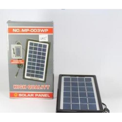 Солнечная батарея (панель) Solar board 3W-9V+torch charger с возможностью заряжать фонарь