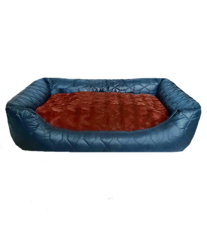 Лежак лежанка 66*56 спальное место для ( собак и кошек)  животных съемный чехол.