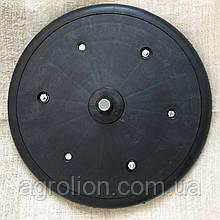 """Прикотуюче колесо в зборі ( диск поліпропілен ) з підшипником 1"""" x 12"""", John Deere, AN281515"""