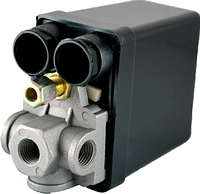 Автоматика для компрессора (прессостат) 4 выхода 220 В