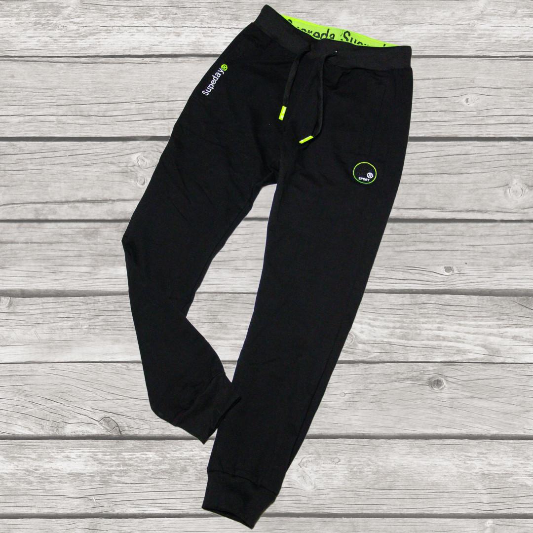Спортивные штаны для мальчика подростка 146 рост Венгрия черные