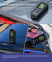 Толщиномер мини-измеритель толщины покрытия измеритель толщины краски Vdiagtool VC-100