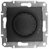 Світлорегулятор поворотно-натискний прохідний, для індуктивного навантаження 60-500Вт/ВА (графіт) SEDNA Schneider