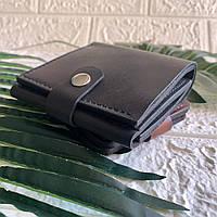 """Кошелек портмоне из натуральной кожи кожанный мужской брутальный подарок парню """"Ван"""""""