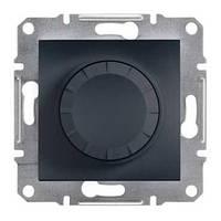 Світлорегулятор 600 ВА з підсвічуванням Asfora Антрацит EPH6500171