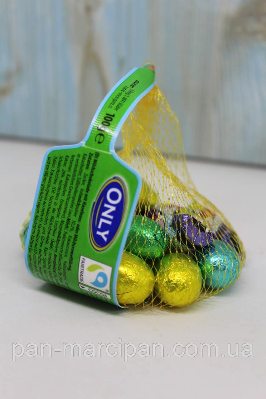 Набір шоколадних яєць з фігурками Only 100 г
