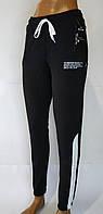 """Жіночі спортивні штани """"Emilia"""". Норма. 42-52 розміри. Чорний колір."""