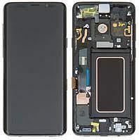 Дисплей Samsung G965 Galaxy S9 Plus з сенсором Сірий Titanium Gray оригінал, GH97-21691C