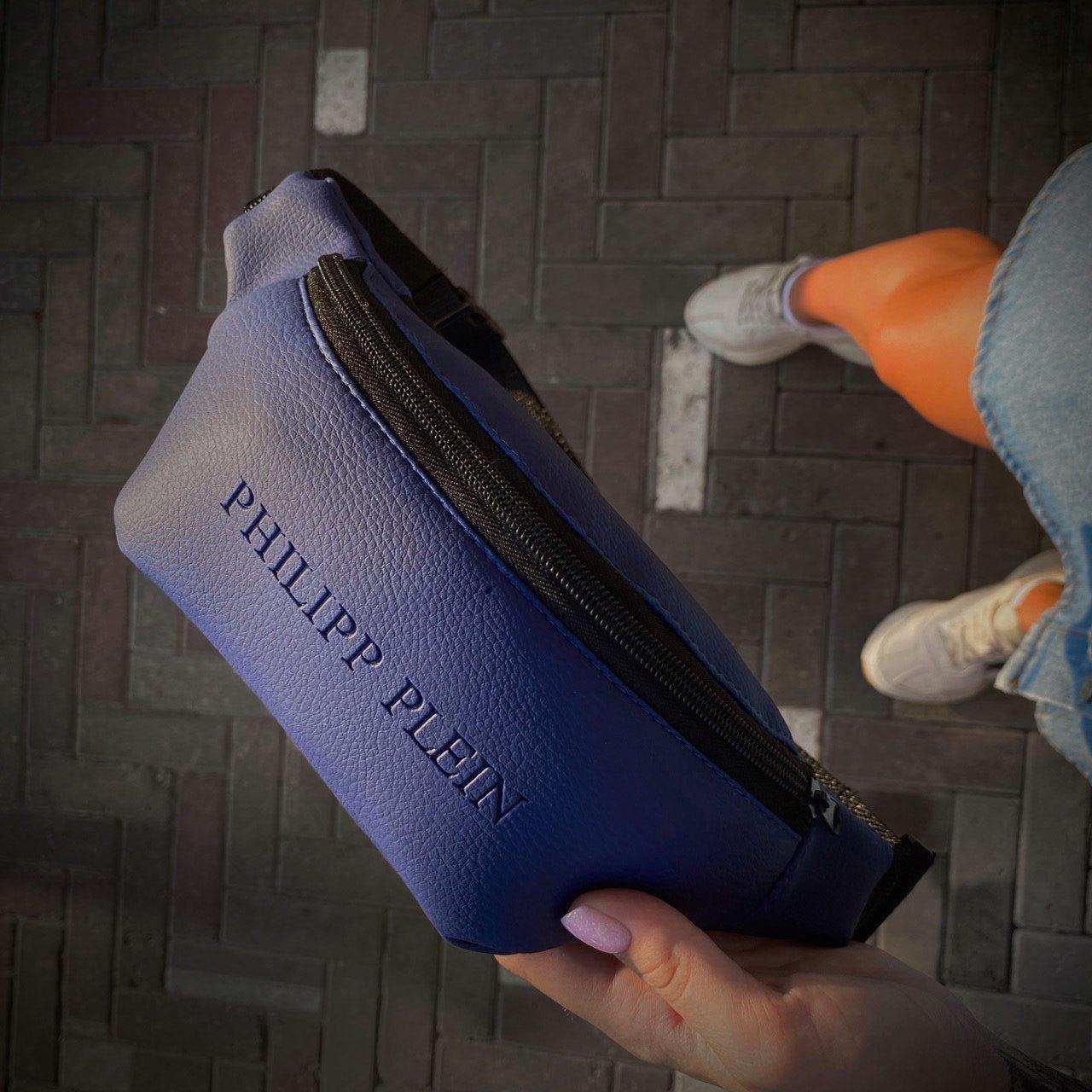 Бананка Чоловіча   Жіноча Philipp Plein blue синя