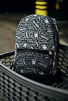 Рюкзак Intruder Bunny Logo Городской для ноутбука черный-белый, фото 1