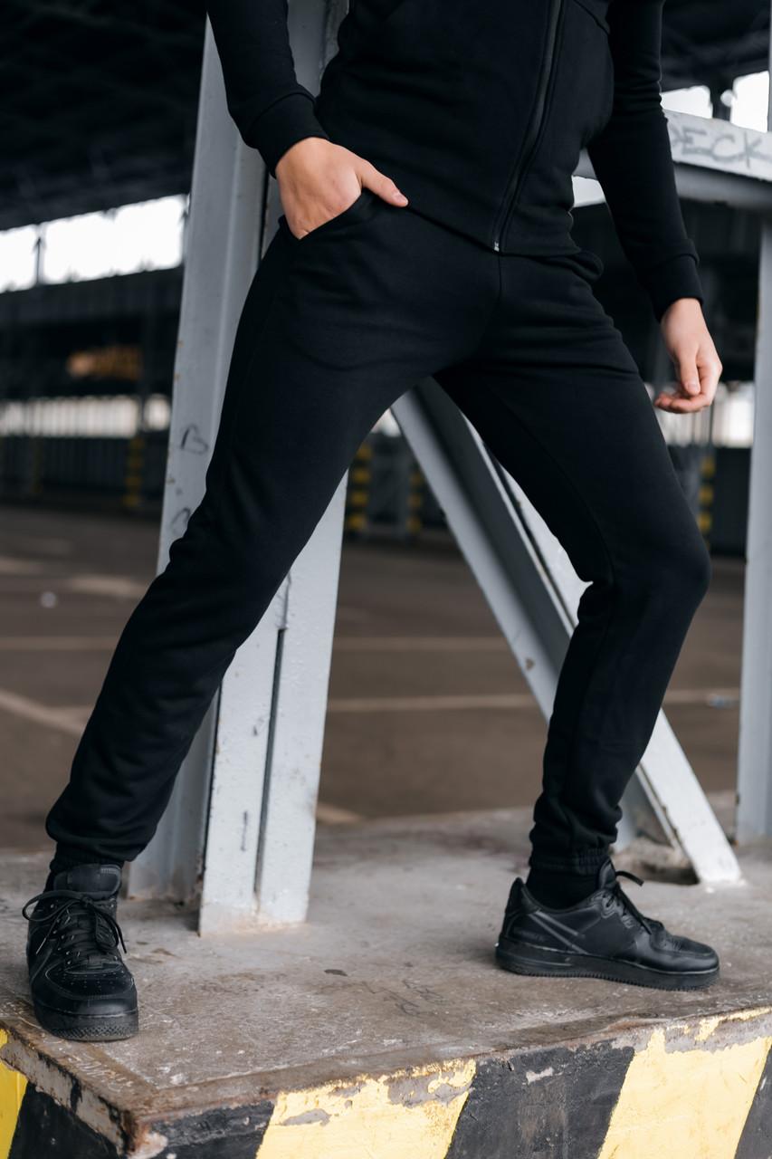 Штани Спортивні чоловічі Cosmo Intruder чорні трикотажні