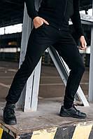 Штаны Спортивные мужские Cosmo Intruder черные трикотажные, фото 1