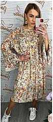 Платье в цветочный принт Trend Italy 891725