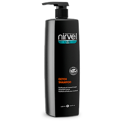 Шампунь Детокс против перхоти и раздраженной кожи головы. Nirvel Detox shampoo. 1000