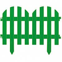 Секція паркану РОМАНТИКА 44 см жовтий*білий*зелене*теракот // PALISAD опт^65023*0*2*5