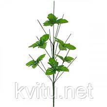 Нога букетная 13-ка высокая с листом, 61см