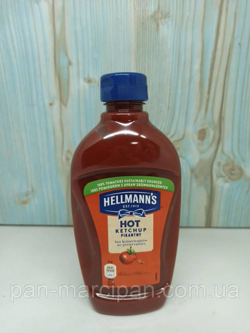 Кетчуп Hellmann's Hot Pikantny 470 г
