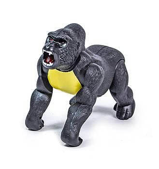 Интерактивный шимпанзе 6611,  двигается, звуковое сопровождение звуков хищника  джунглей и подсветка