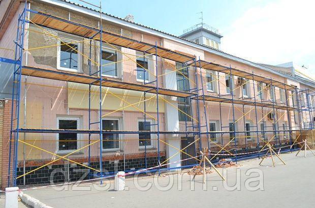 Будівельні рамні риштування комплектація 4 х 6 (м)