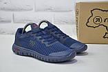 Підліткові кросівки весна/літо сітка сині Restime, фото 4