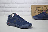 Підліткові кросівки весна/літо сітка сині Restime, фото 5