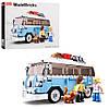 Тематические конструкторы для мальчиков & quot; Model Bricks & quot ;: Автобус, 227 деталей SLUBAN M38-B0707