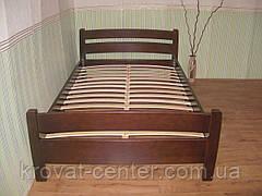 """Кровать """"Марта"""" (200*200см), массив - сосна, ольха, береза, дуб., фото 2"""