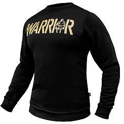 "Світшот (толстовка) ""WARRIOR"" Black"