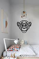 """Картина """"Мавпочка"""" виготовлення картин, Панно , LaserBox 423"""